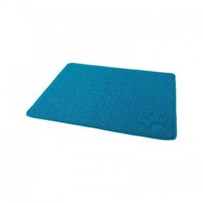 Tapete Quadrado Mais Dog 37x45 Azul