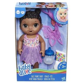 Boneca Baby Alive Hora Da Festa Negra Hasbro B9725 11980