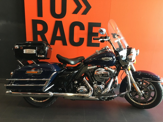 Harley Davidson - Road King Police - Azul