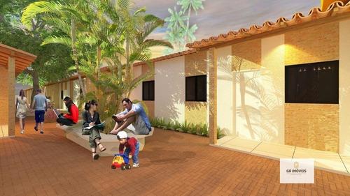 Imagem 1 de 6 de Casa À Venda, 2 Quartos, 1 Vaga, Cidade Universitária - Maceió/al - 971