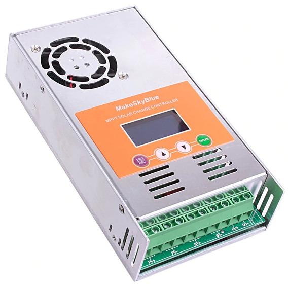 Controlador Solar Makeskyblue 12v 24v 36v 48v V117 60a Mppt