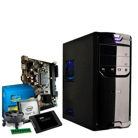 Pc Intel Core I5 3.3 Ghz, 8gb Ddr3, Ssd 120gb, Hd 500gb