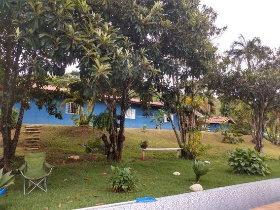 Chácara Com 3 Dormitórios À Venda, 8000 M² Por R$ 550.000 - Zona Rural - Paraibuna/sp - Ch0030