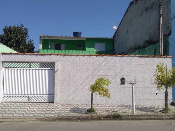 Casa Com 2 Dormitórios Em Peruíbe Sp 4,5 Km Da Praia