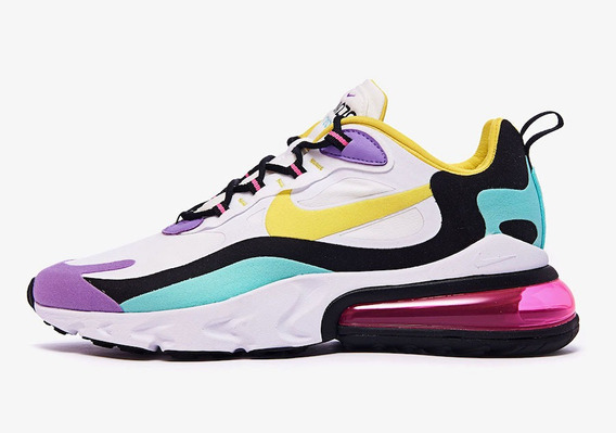 Zapatillas Nike React Air Max Max270 Bright Violet Unisex