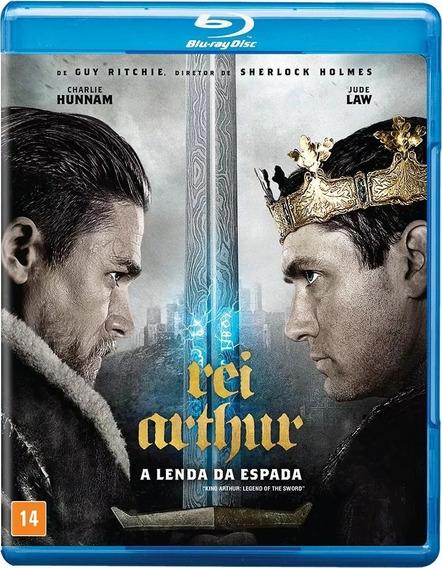 Blu-ray Rei Arthur A Lenda Da Espada - Jude Law - Original