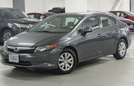 Honda Civic Lx 2012 Sedan