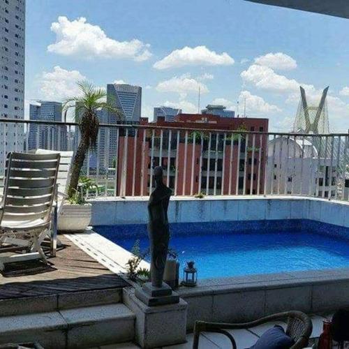Cobertura À Venda, 367 M² Por R$ 2.260.000,00 - Vila Morumbi - São Paulo/sp - Co0013