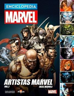 Enciclopedia Marvel 2017 # 47 Artistas Marvel Vol. 02 - Auto