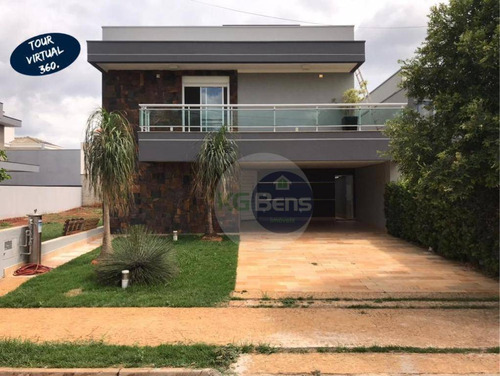 Casa À Venda, 295 M² Por R$ 1.390.000,00 - Condomínio Reserva Real - Paulínia/sp - Ca0425
