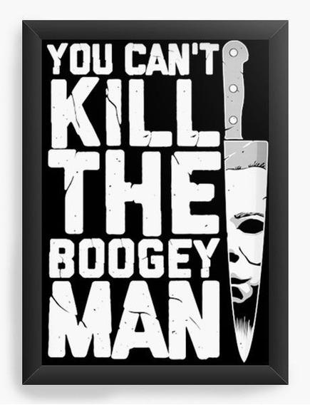 Quadro Decorativo Geekz Kill The Boogey