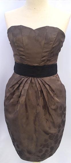 Vestido Para Mujer De Fiesta Strapless Talla 4