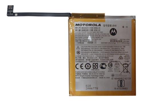 Imagen 1 de 7 de Bateria Motorola Original G7 Play Je40 2820 Mah (2014) E5532
