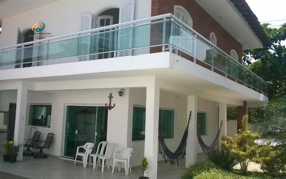 Casa Para Alugar No Bairro Tombo Em Guarujá - Sp. - Enl232-3