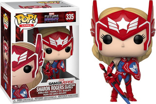 Funko Pop! Sharon Rogers (as Captain America) 335 - Marvel