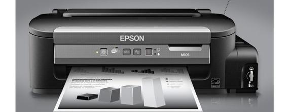 Impressora Epson Monocromatica M105 Tanque De Tinta Garantia