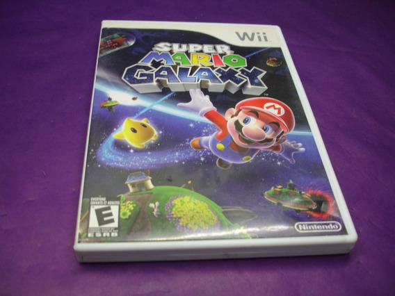 Wii - Super Mario Galaxy - Original Na Caixa E Manual