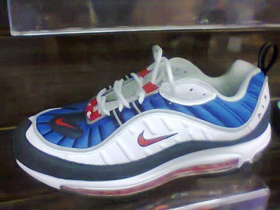 Tenis Nike Air Max 97 Branco E Azul Nº38 Ao 43 Original!!
