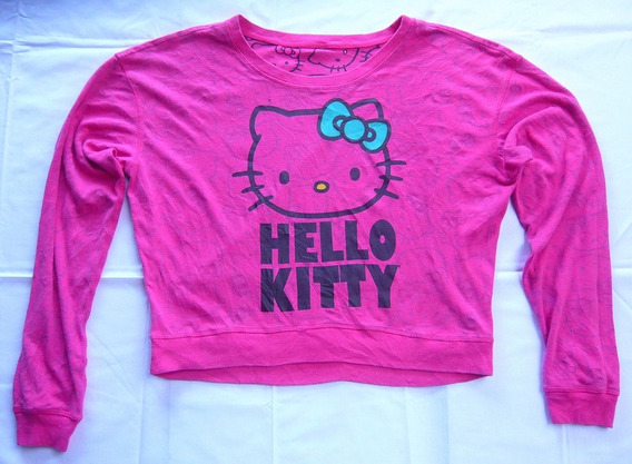 Remera Hello Kitty Pink Reversible Importada Original M L