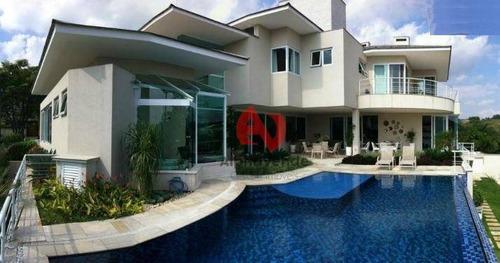 Imagem 1 de 30 de Casa Com 4 Dormitórios À Venda, 1400 M² Por R$ 12.800.000,00 - Alphaville - Santana De Parnaíba/sp - Ca0488