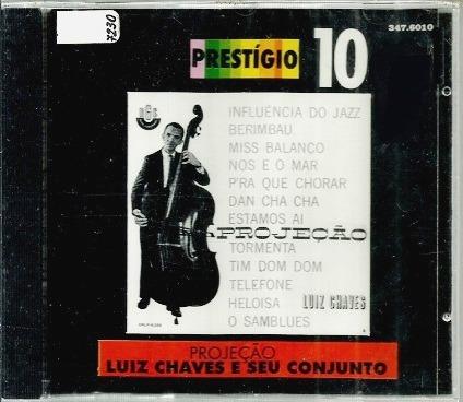 Cd / Luiz Chaves E Seu Conjunto (1963) Projeção - 1ª Edição
