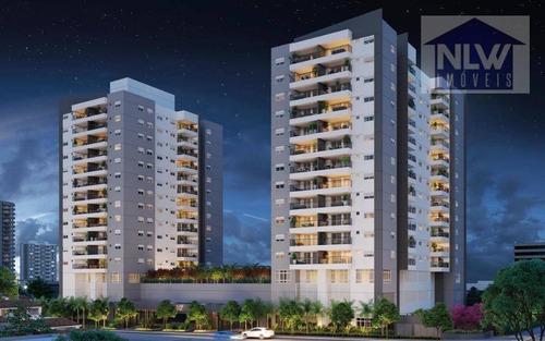 Apartamento Com 3 Dormitórios À Venda, 81 M² Por R$ 901.700,00 - Vila Mascote - São Paulo/sp - Ap1704