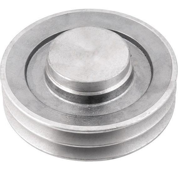 Polia De Alumínio 2 Canais A 140 Mm Vonder ( 2 Unidades )