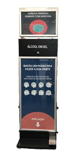 Imagem 1 de 3 de Totem Display Em Alcool Gel Duplo