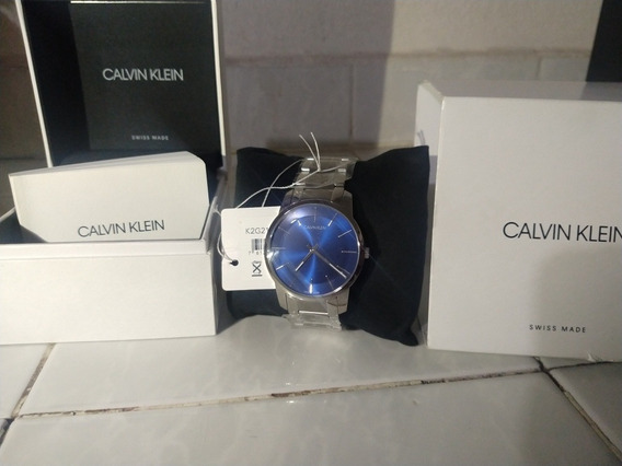 Reloj Calvin Klein K2g2114n Para Caballero Ext. De Acero