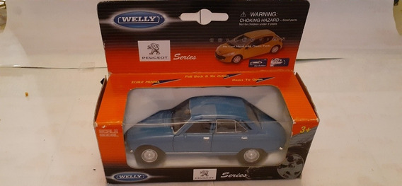 Peugeot 504 - Año 75 - Wellly .a Escala 1/38 - Nuevo.