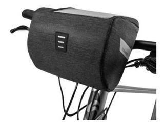 Bolso Delantero Alforja Impermeable Roswheel Porta Celular