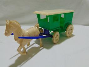 Brinquedo Antigo Carroça Mirim - Atma - Forte Apache