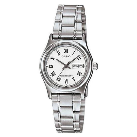 Relógio Feminino Analógico Casio Ltpv006d7bud - Prata