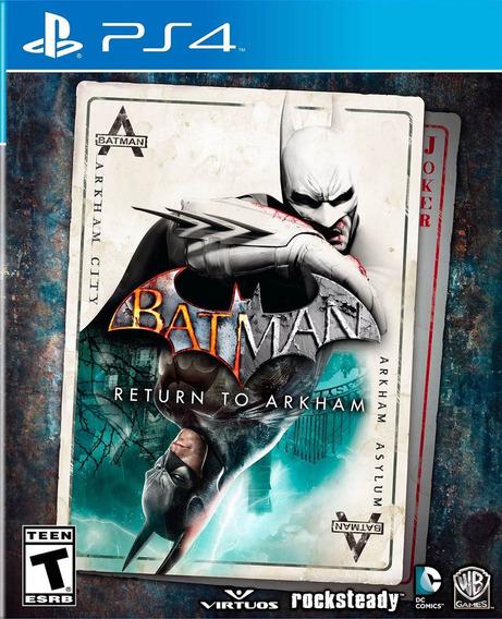 Batman Return To Arkham Ps4 Primaria - Envio Imediato
