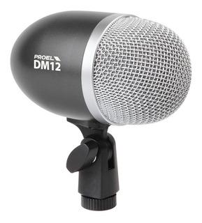 Microfono Bombo Tuba Amplificador Bajo Dm12 Envio Inmediato+