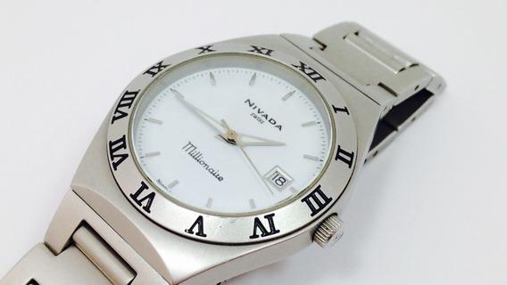 Reloj De Quarzo Marca Nivada / Modelo Millionaire (ref. 905)