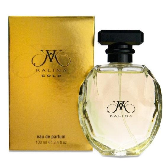 Perfume Kalina Gold Para Dama 100 Ml