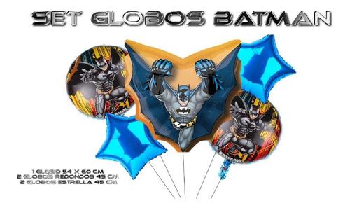 Globos Metalizados Batman X5