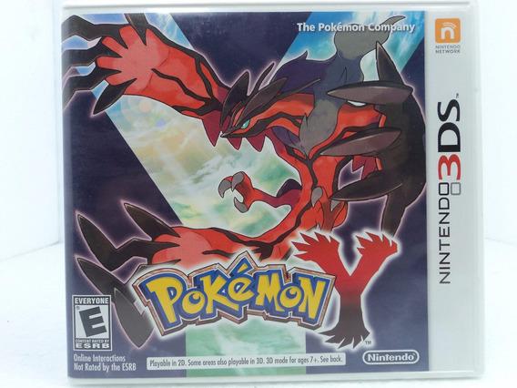 Pokemon Y - Nintendo 3ds/new 3ds - Ótimo Estado