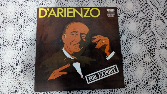 Darienzo For Export (disco De Vinilo)