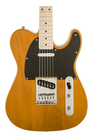 Guitarra Squier Fender Affinity Telecaster Butterscotch Mn