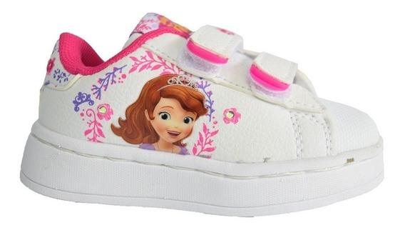 Zapatillas Addnice Baby Flow Sofia Velcro Blancas De Niños
