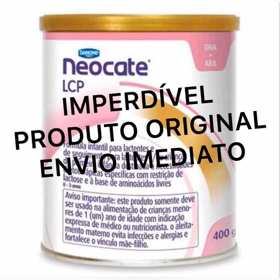 Neocate Lcp Unidade 400gr Envio Imediato