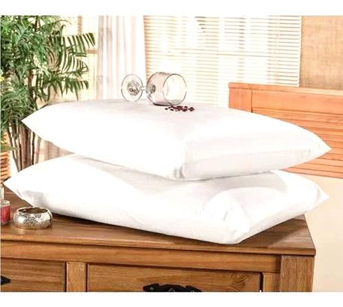 Capa Protetor De Travesseiro Impermeável Zíper Anti-ácaro