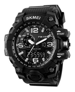 Reloj Skmei 1155 Cronometro - Deportivo - Negro