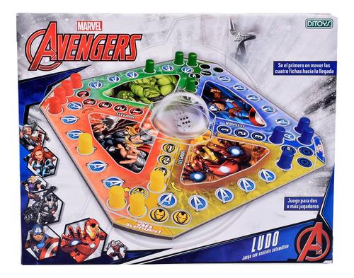 Juego Ludo Avengers Vengadores Marvel St Disney