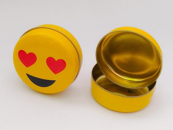 Lata Souvenir Emoji X 6 Unidades Varios Modelos Pacho
