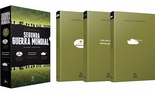 Box Essencial Segunda Guerra 3 Livros Mundial Lacrado
