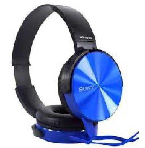 Fone De Ouvido Sony Mdr- Xb450 Extra Bass Azul