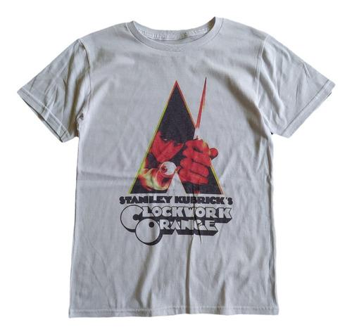 Imagen 1 de 4 de T Shirt Tee King Naranja Mecánica